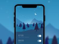 Alarm app pixels