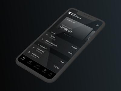 AllBlack — Banking App for St.Galler Kantonalbank