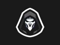 Overwatch Reaper Mascot Logo
