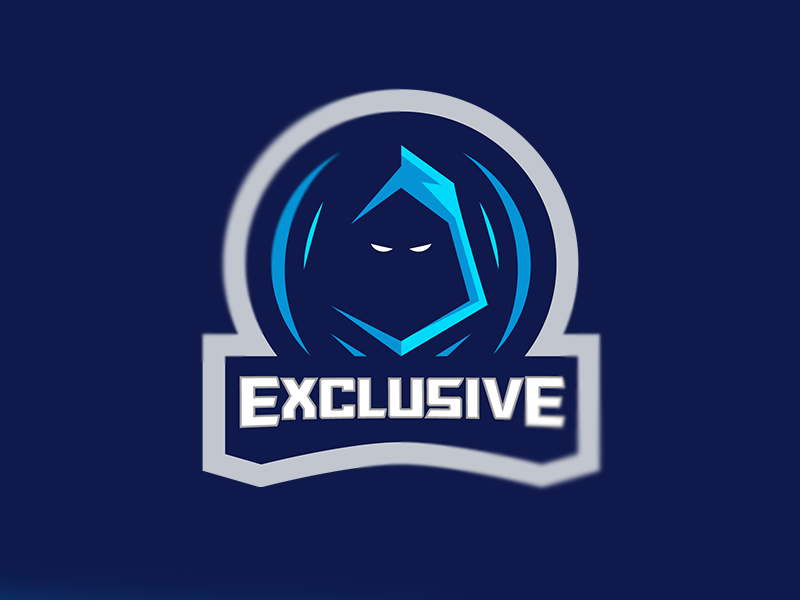 Ninja Mascot Logo for Exclusive blue mascot logo illustration design mascot logo e-sports branding