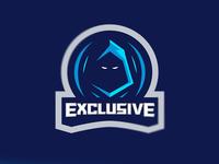 Ninja Mascot Logo for Exclusive