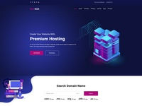 Wowhost - Hosting Business PSD Template