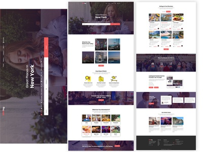 Online Directory designs, themes, templates and downloadable