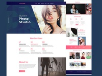 Photography Studio  (White Person)