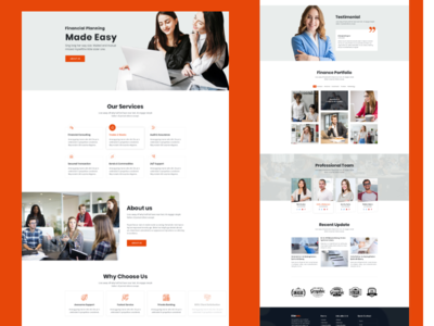 Bizever home 2 website webdesign ux ui typography startup minimal landing page landing illustration gradient digital creative corporate colorful character business branding agency 2019 trend
