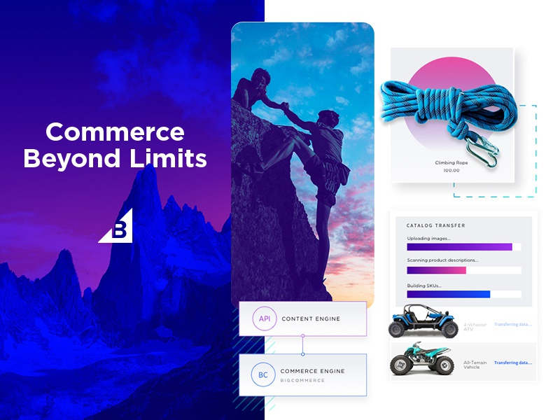 Competitive Landing Page - design elements api dashboard adventure ui futuristic branding design
