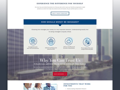 LBA Wealth Management Home Page Detail