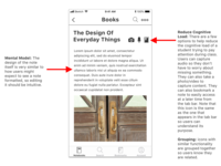 Note-Taking App Concept #2