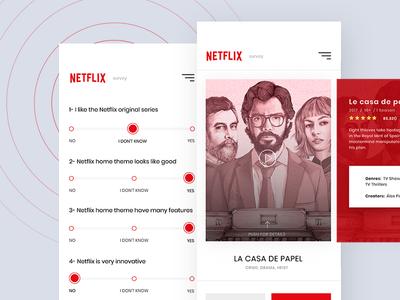 Netflix - Survey App