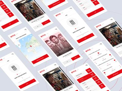 Netflix - Survey app full