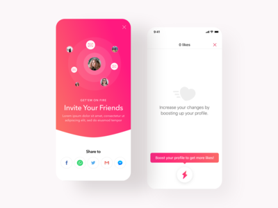 Dating App - Updated Modal Pages