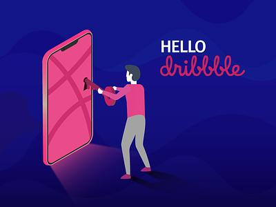 Big Key artwork illustration dribbbleshot firstshot debutshot