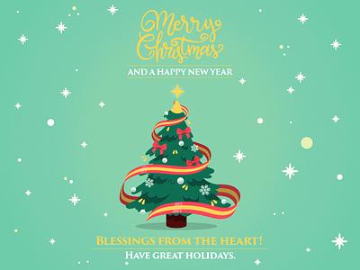 Merry Christmas newyear merriweather merrychristmas vector artwork