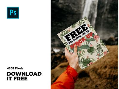 Magazine Mockup brandingmockup branding mockupdesign mockup downloadfree freebies freebie design photoshop