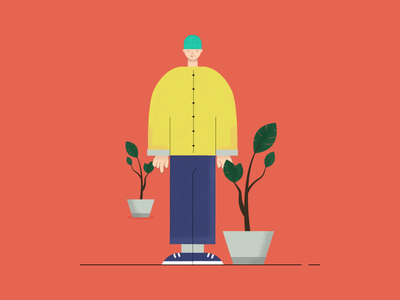 Potman design vector illustration artwork