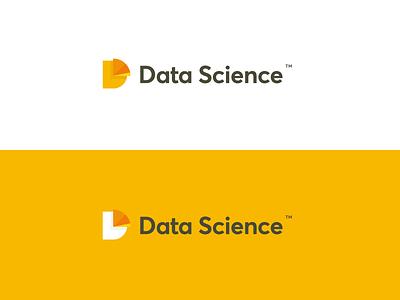 Data Science Logo icon symbol design vector typography branding artwork illustration