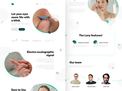 Lzny Web design webiste site branding uiux freetimework landingpage websites uxdesign uidesign