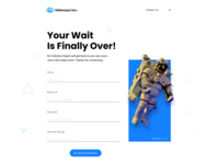 Proposal Page for a website