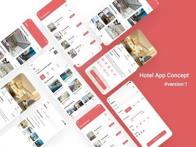 Hotel concept App xd design sketch app photoshop design graphic design ux design ui design mobile app design hotel management hotel branding hotel booking hotel app app