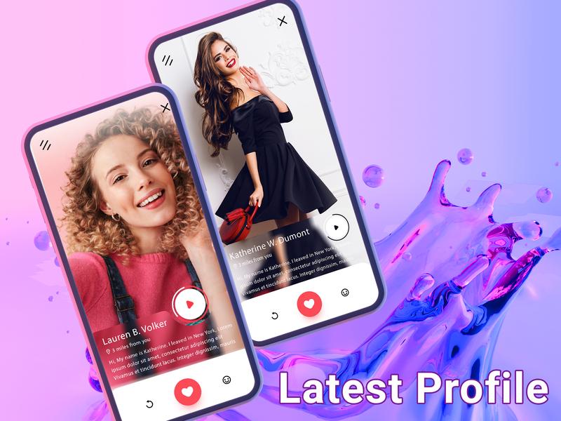 Profile profile design profile ui digital profile profile