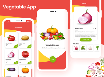 Vegetable App