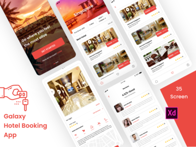Galaxy Hotel Booking App