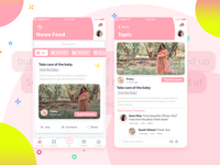 App is for moms or for ladies who is planning to have a baby.