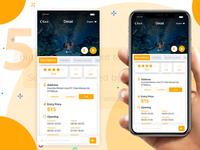 Design App UI/UX for Museums, Zoos, Nature Parks Detail