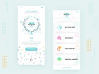 Loading Screen for Health Wallet Mobile App