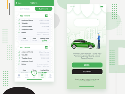 Design Mobile homage follow feed app app onboarding ux ui design app vector category app illustration ticket police car app home screen app design design uiux mobile design design