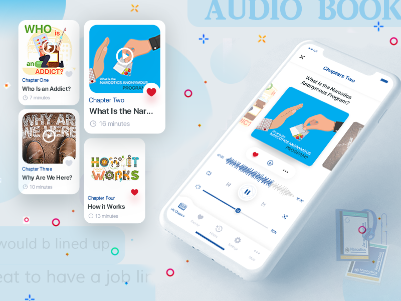Audio Book App by Ciptasmara Khan on Dribbble