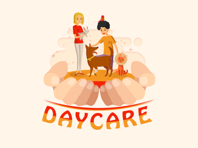 DAY CARE TRAINING ui photoshop ilustrator graphicdesign design graphic days