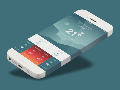 Weatherapp weather design app ux ui ios weatherapp