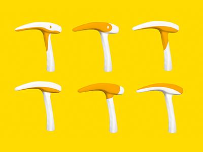 Umbrella Handle Design-Rainy day beak