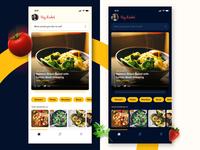 Cookbook App Concept