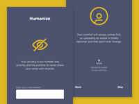 Humanize - Onboarding