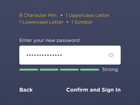 Humanize - Onboarding, Password