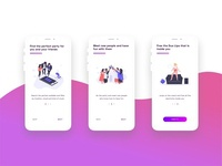 Party finding onboarding