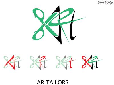 logo for AR Tailors
