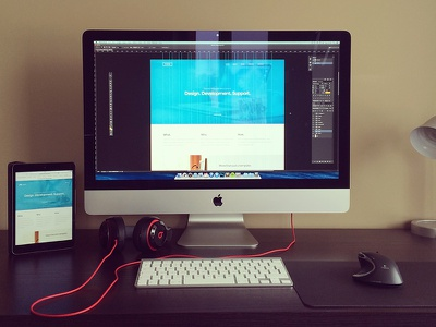 Over the Shoulder ux ui design aether themes design photoshop