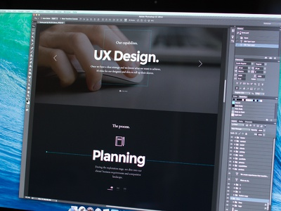 Maven WIP ux ui design aether themes design photoshop