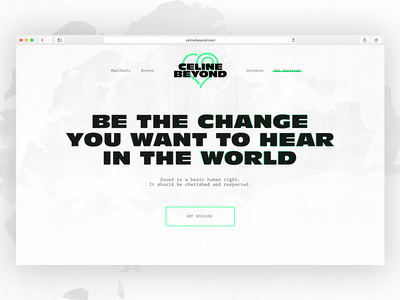 Celinebeyond responsive interface web design ui