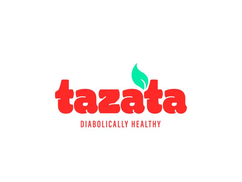 Tazata sauce brand brand design red graphics brand brand identity icon vector sauces spicy chili tomato minimal logo identity branding sauce