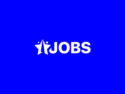 Star Jobs Branding brand identity jobs employment identity design logo branding