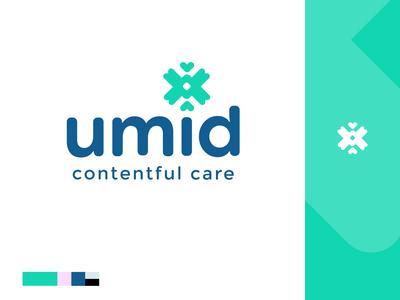 Umid - Contentful Care | Branding design branding logo brand identity branding design mind health inspire icon ideogram butterfly hope identity psychologist brand
