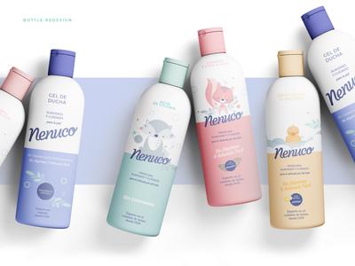 Nenuco concept packaging