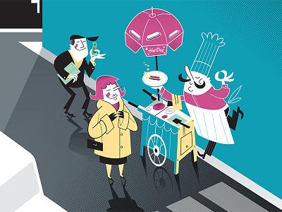 Courrier Internacional, Cover Illustration, November 2013 vector illustration cover