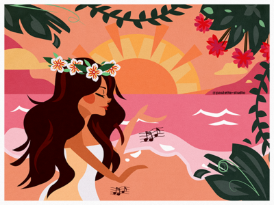 Illustration Hawaii