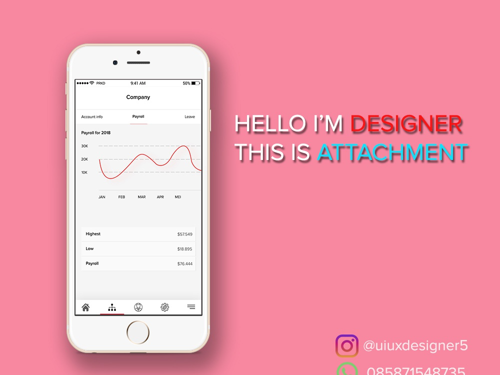 Mac Up Attachment app designer app attachment mobile app design mobile app dribbble user inteface