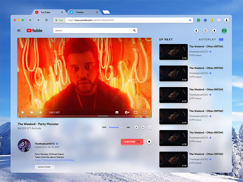 Google Chrome Mac Redesign by Viktor Frohnapfel on Dribbble
